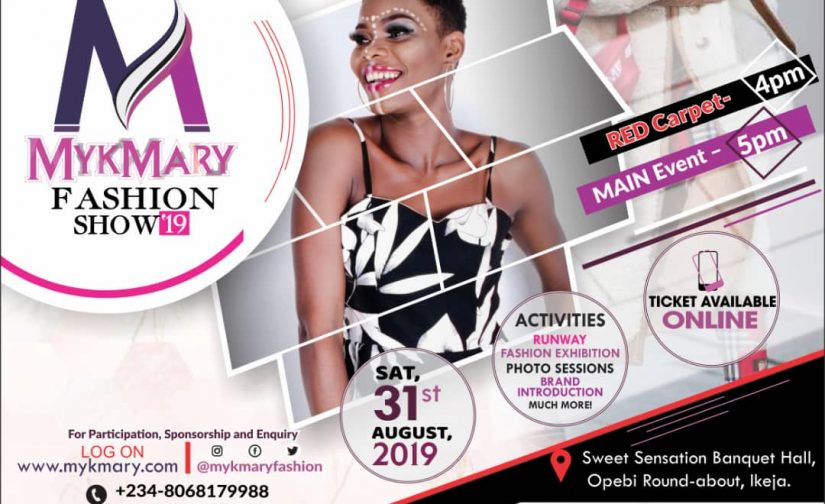 Mykmary Fashion Show Set To Hold August 31st 2019