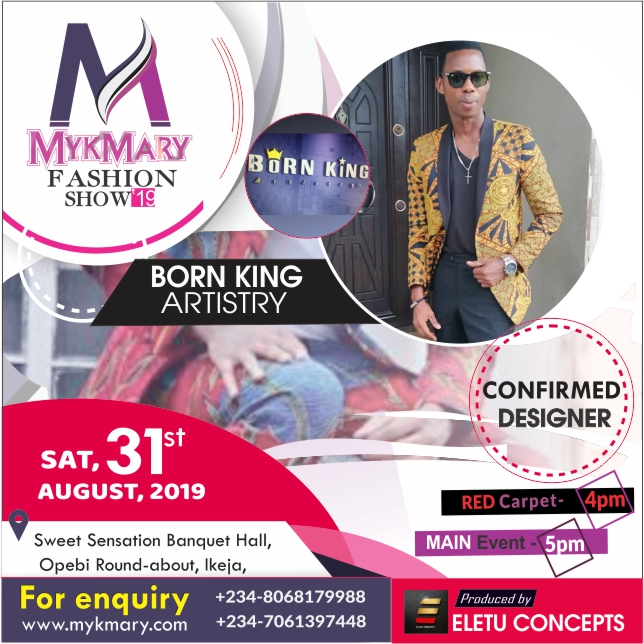 Meet designers set for Mykmary Fashion Show 2019 1