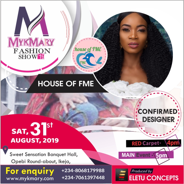 Meet designers set for Mykmary Fashion Show 2019 7