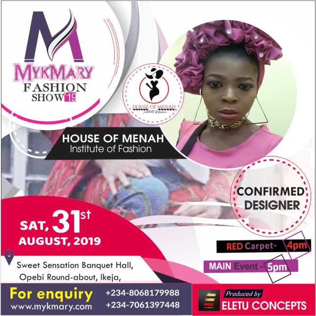 Meet designers set for Mykmary Fashion Show 2019 8