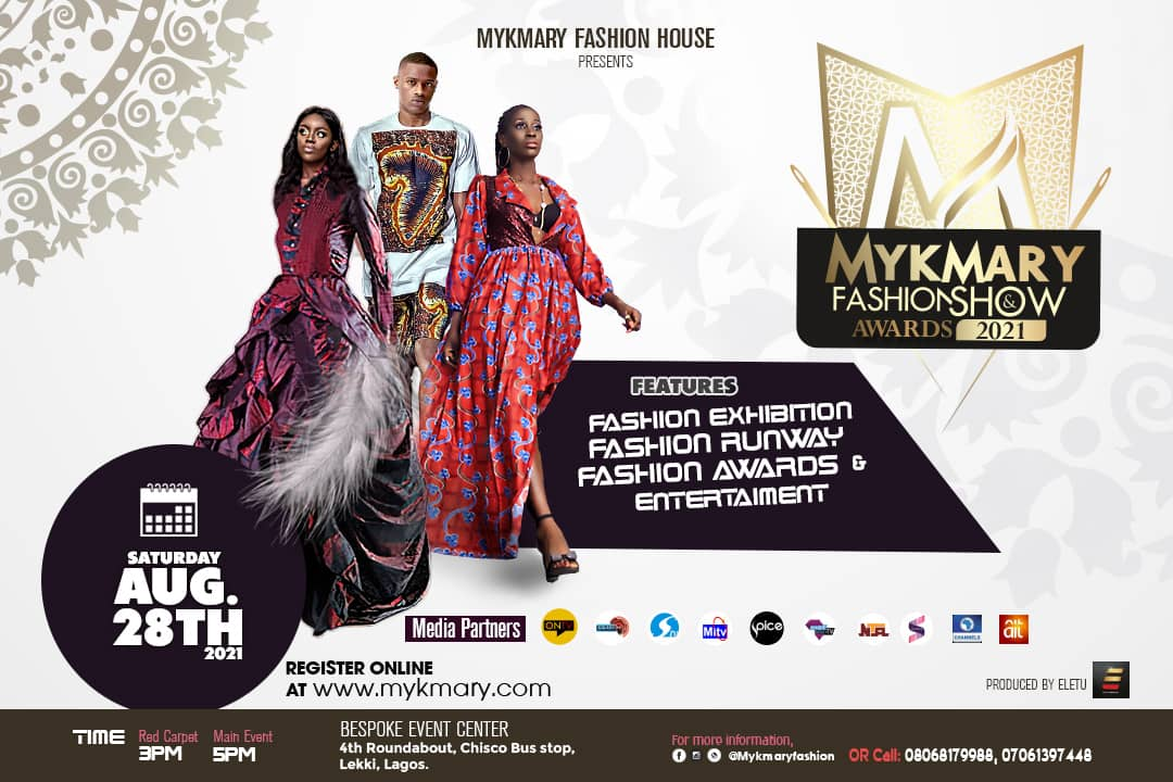 Mykmary Fashion Show & Awards Set To Hold August 28th 2021 1