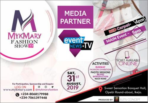 Mykmary Fashion Show 2019 Media Partner Eventnews Africa