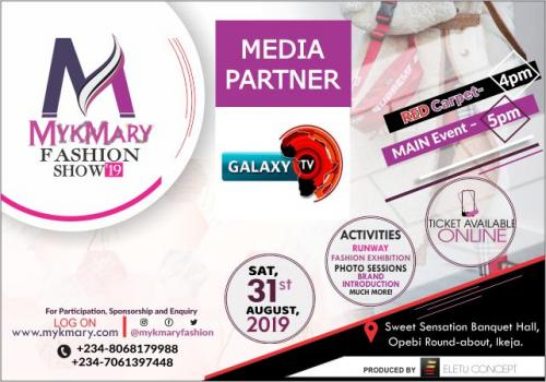 Mykmary Fashion Show 2019 Media Partner Galaxy
