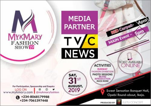 Mykmary Fashion Show 2019 Media Partner TVC NEWS